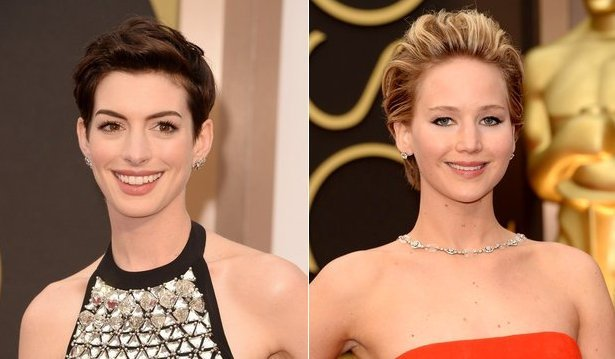 2014 Oscars Celebrity Hairstyles