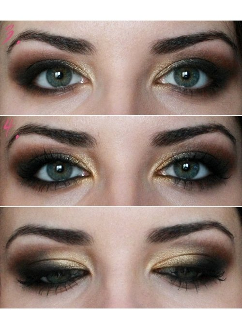 tutorial machiaj ochi mici 2