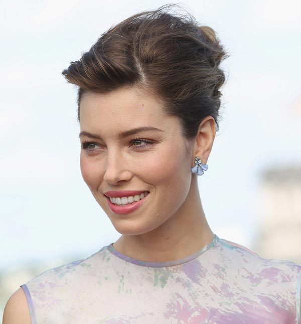 Jessica Biel - French Twist