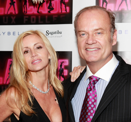 Kelsey Grammer and Camille Donatacci