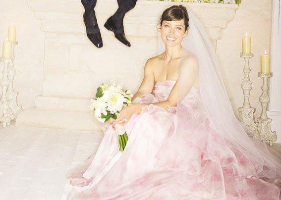 Jessica Biel - Giambattista Valli