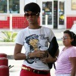 EXCLUSIVE: Rihanna Leaving Popeyes