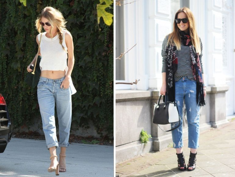 4 Boyfriend Jeans