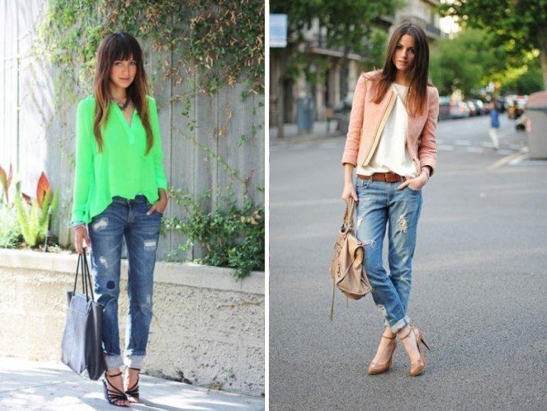 How to Wear Boyfriend Jeans