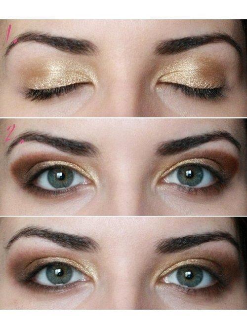 tutorial machiaj ochi mici