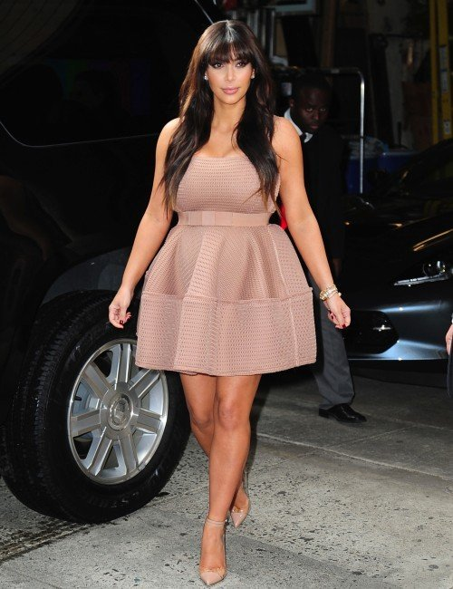 Kim Kardashian Chooses An Unflattering Dress