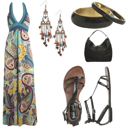 look-for-less-maxi-dress-flats