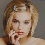 Cute Bridal Hairstyles for Short Hair0