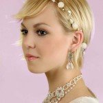 Cute Bridal Hairstyles for Short Hair888
