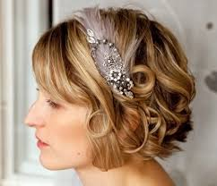 Cute Bridal Hairstyles for Short Hair8888