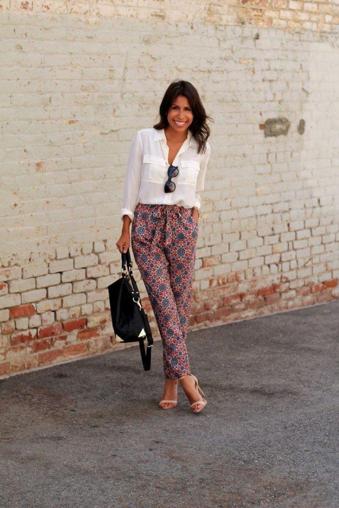 pantaloni a moda