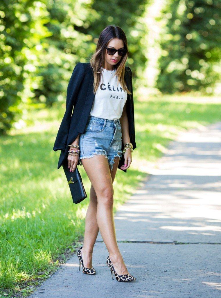 pantaloni scurti la moda